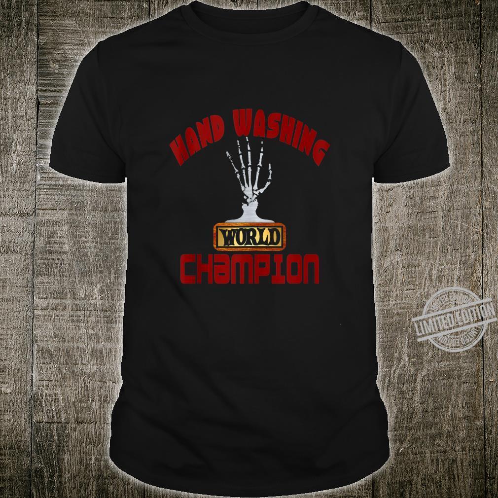 2020 World Champion Hand Washer TP Sanitizer Trophy Award Shirt