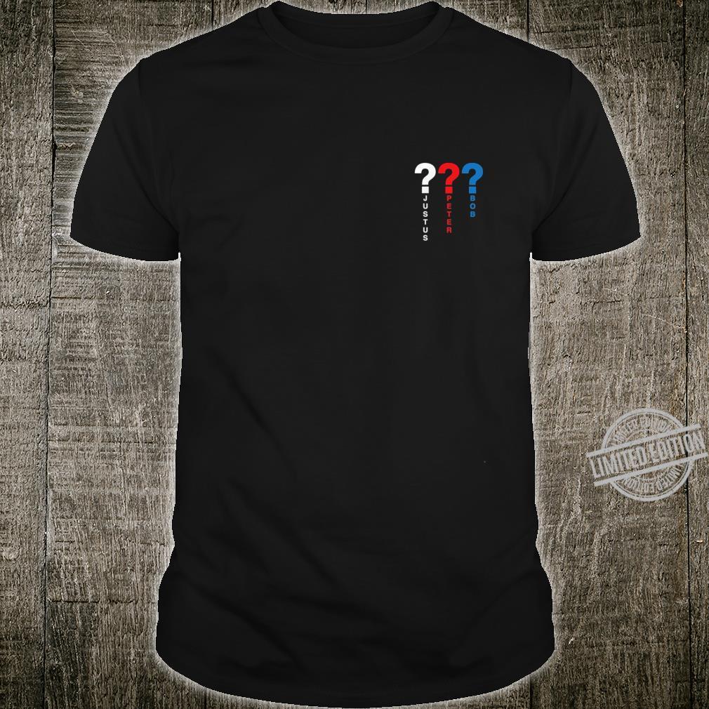 3 Detektive & Fragezeichen Shirt