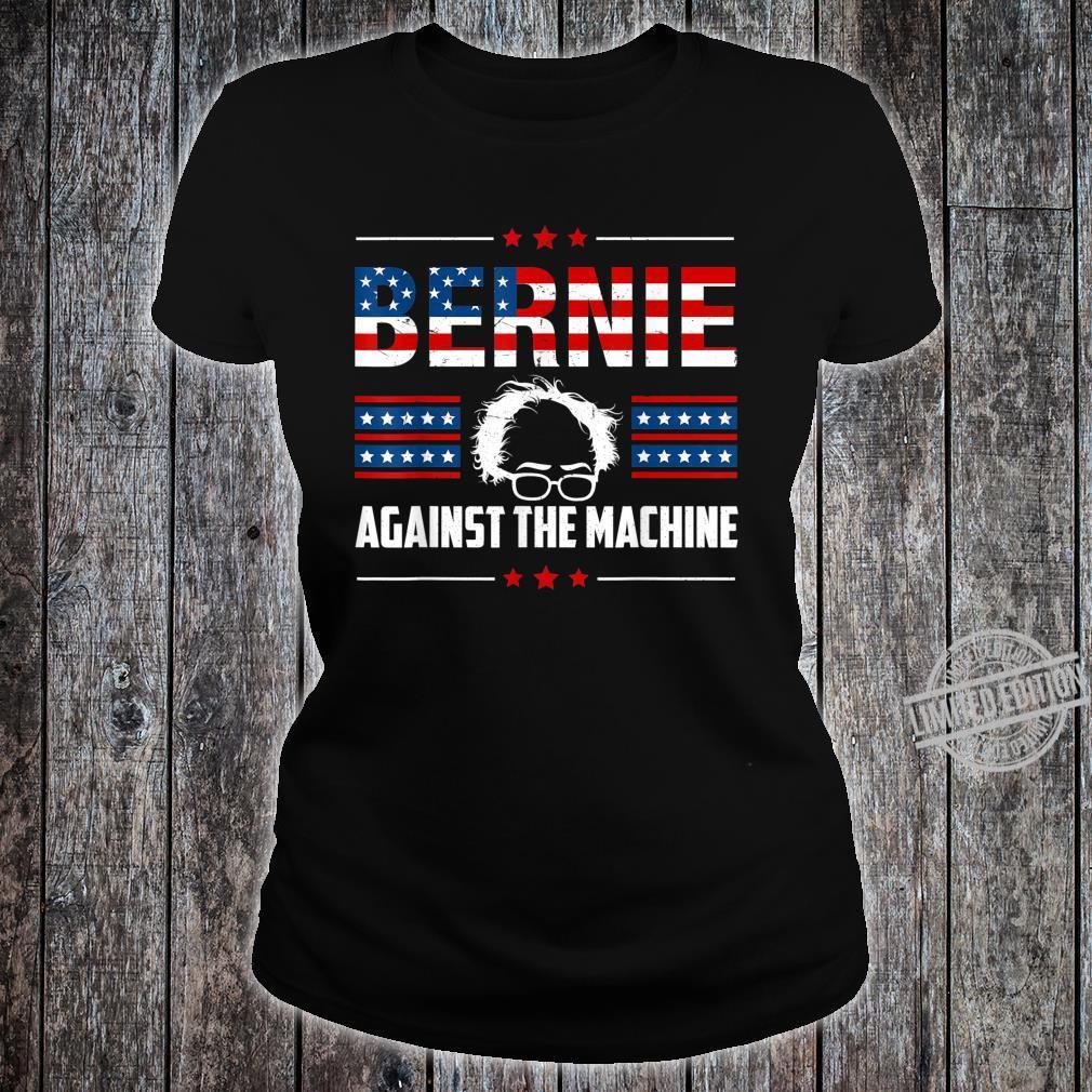 Bernie Sanders Against The Machine Red Star Bernie 2020 Shirt ladies tee