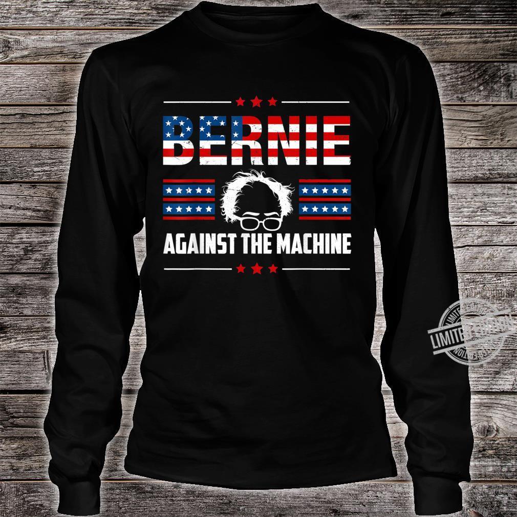 Bernie Sanders Against The Machine Red Star Bernie 2020 Shirt long sleeved