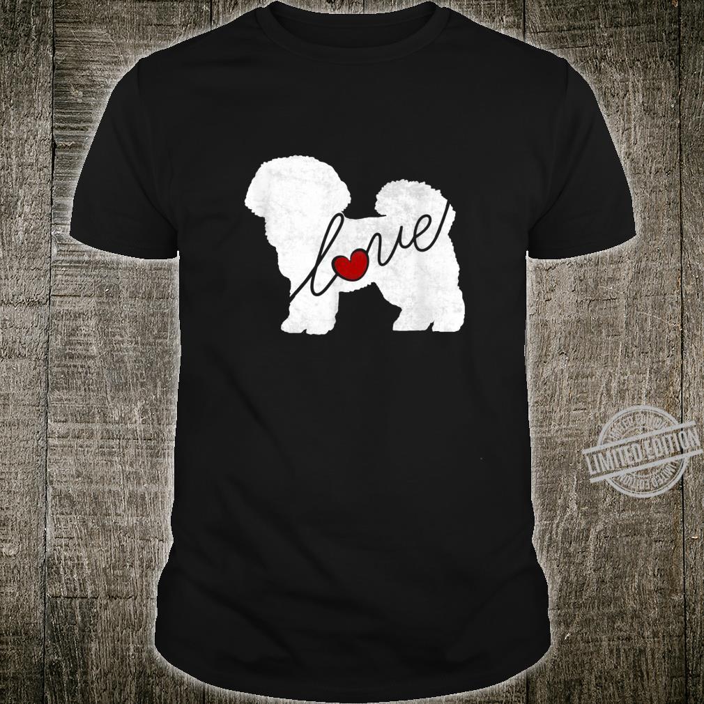 Bichon Frise Love A Minimalist and Classic Shirt