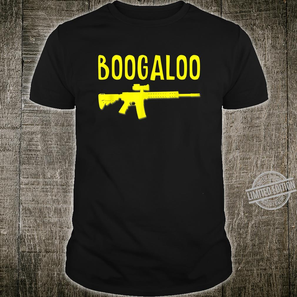 Boogaloo Libertarian 2nd Amendment Ancap Pro Gun Firearms Shirt