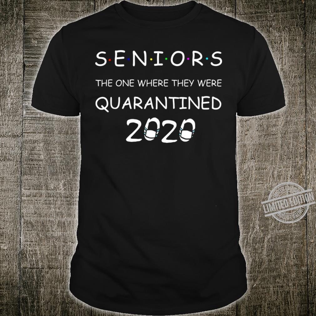 Class Of 2020 Graduation Seni Shirt