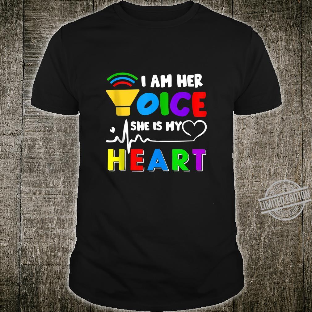 Daughter Autism Awareness Day Costume Autism Dad Brother Shirt