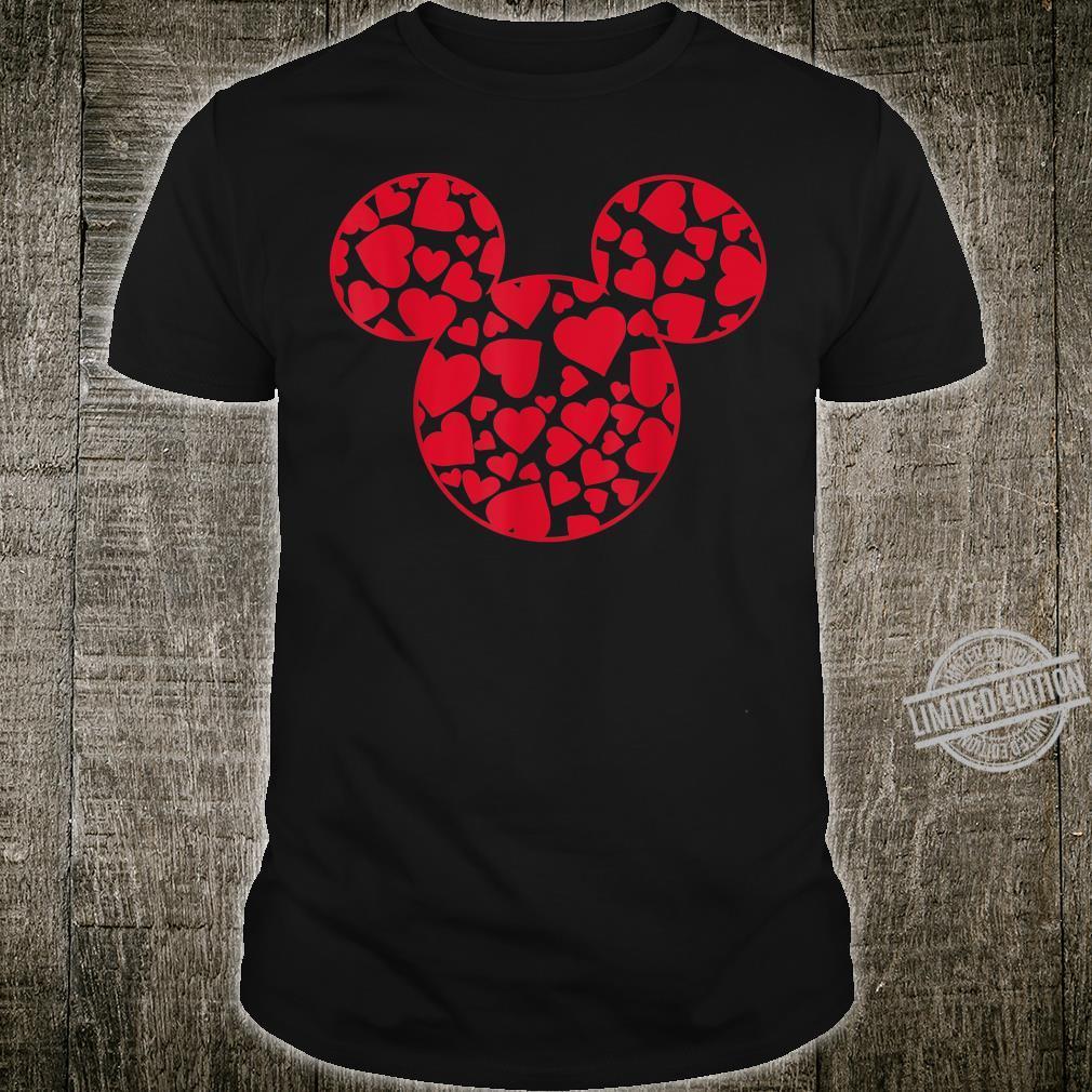 Disney Mickey And Friends Valentine's Day Mickey Heart Fill Shirt