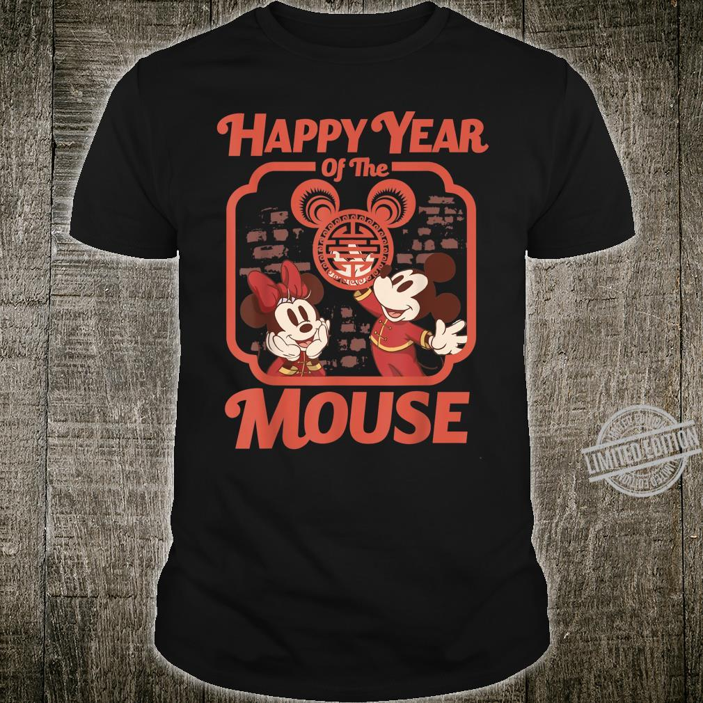 Disney Mickey And Minnie Happy Year Of The Mouse Shirt