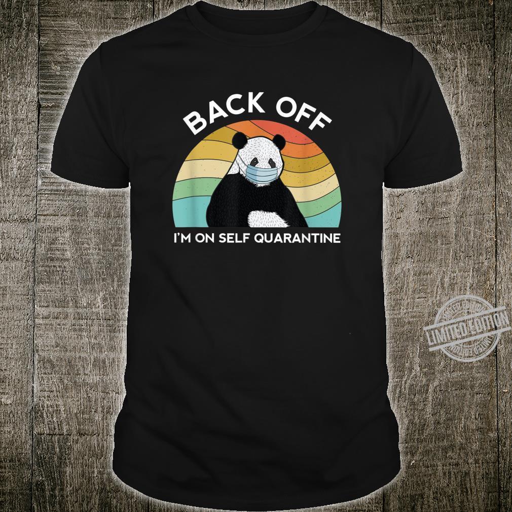 Dont Cough On Me Social Distancing Quarantine Toilet Paper Shirt