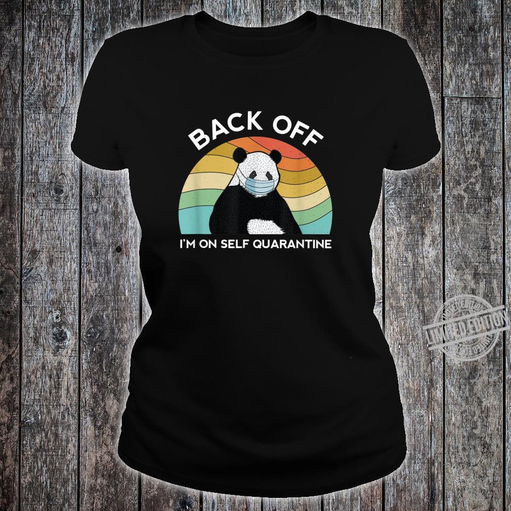 Dont Cough On Me Social Distancing Quarantine Toilet Paper Shirt ladies tee
