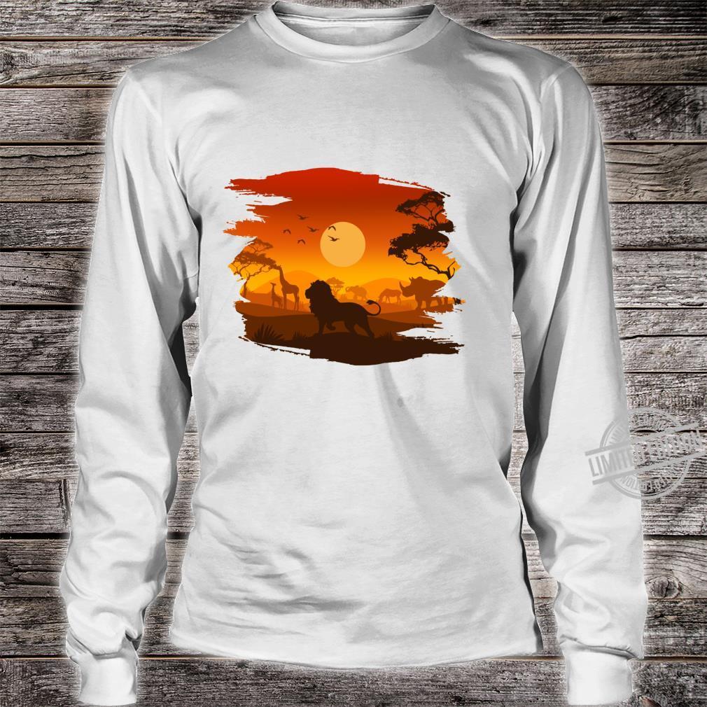 Elephant Shirt long sleeved