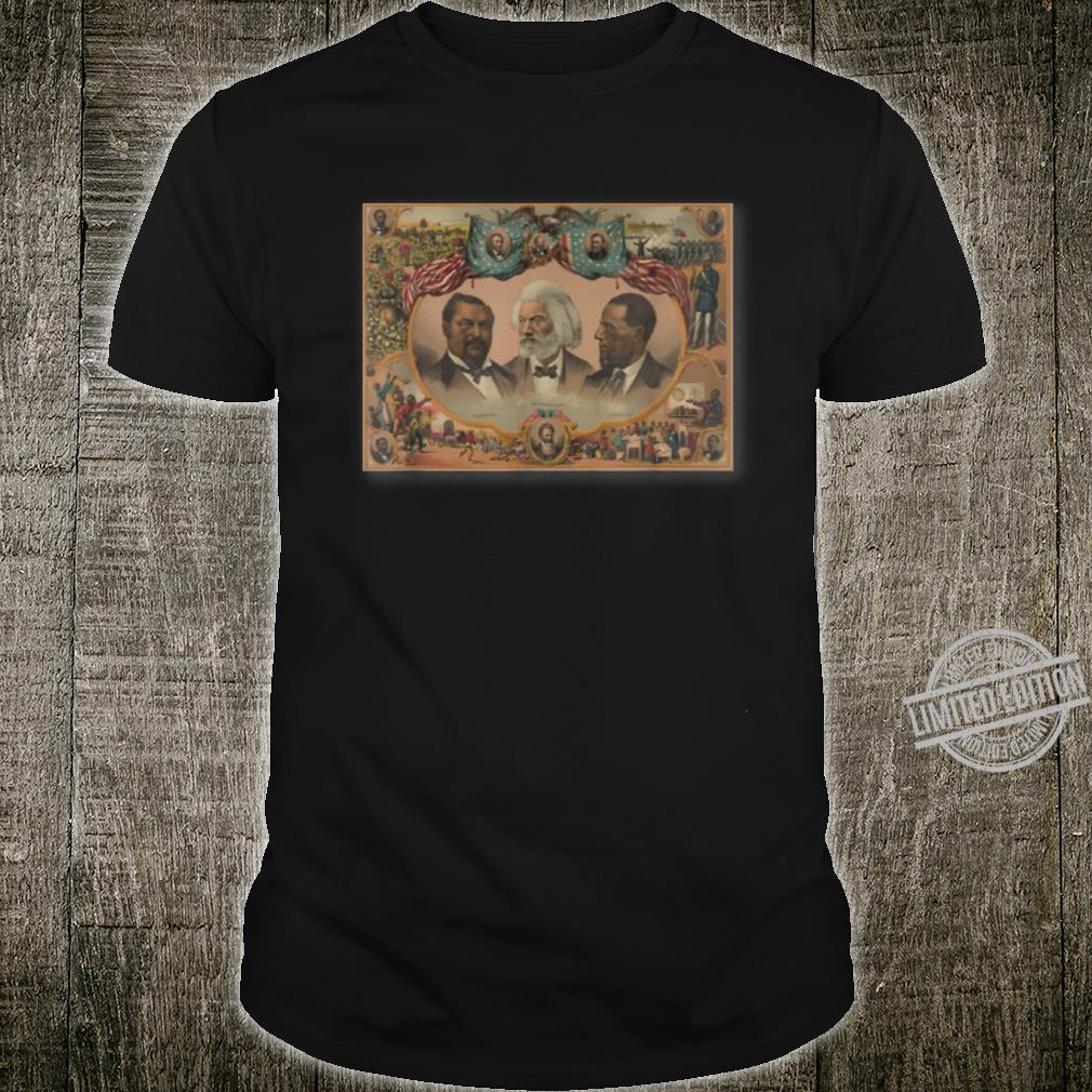 Frederick Douglass Blanche Kelso Bruce and Hiram Revels Shirt