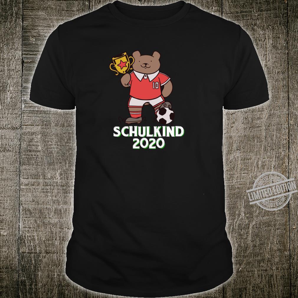 Fußball Schulkind 2020 Erstklässler Geschenk Einschulung Shirt