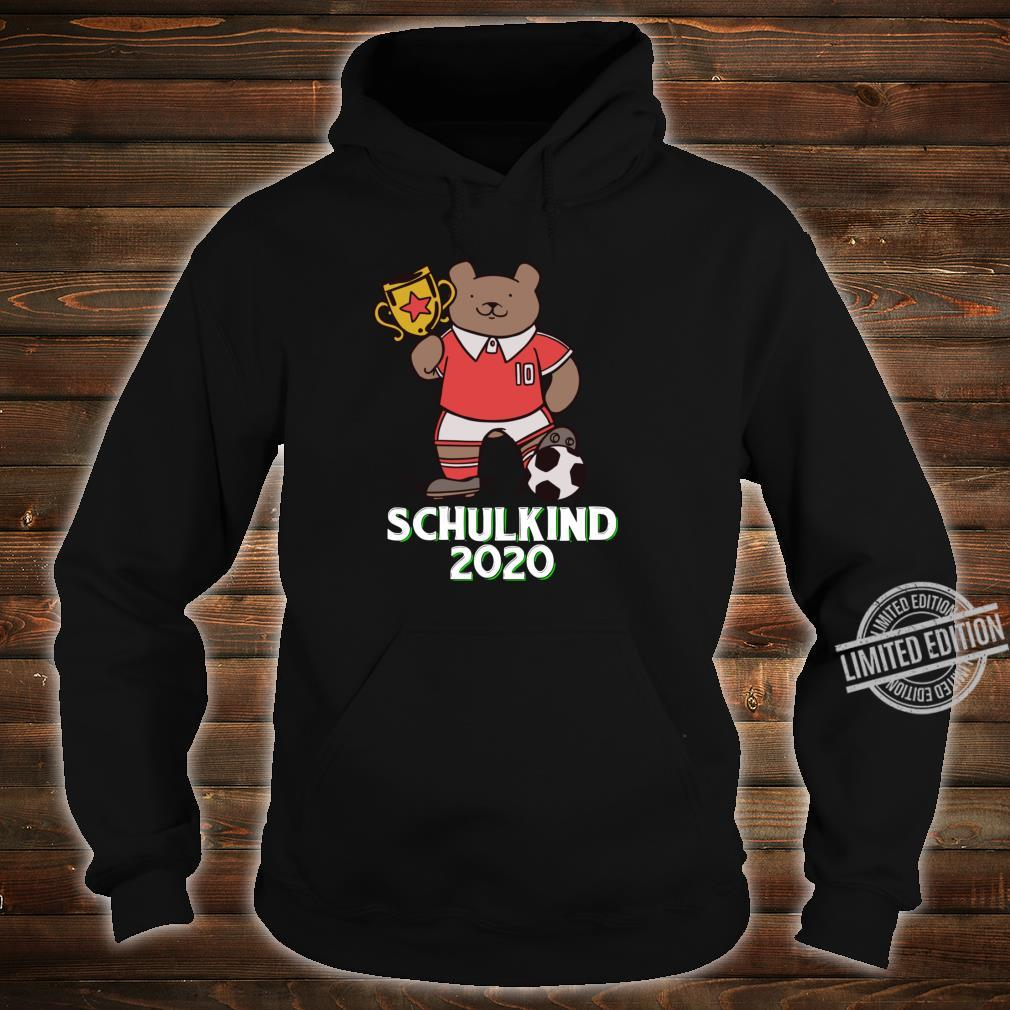 Fußball Schulkind 2020 Erstklässler Geschenk Einschulung Shirt hoodie