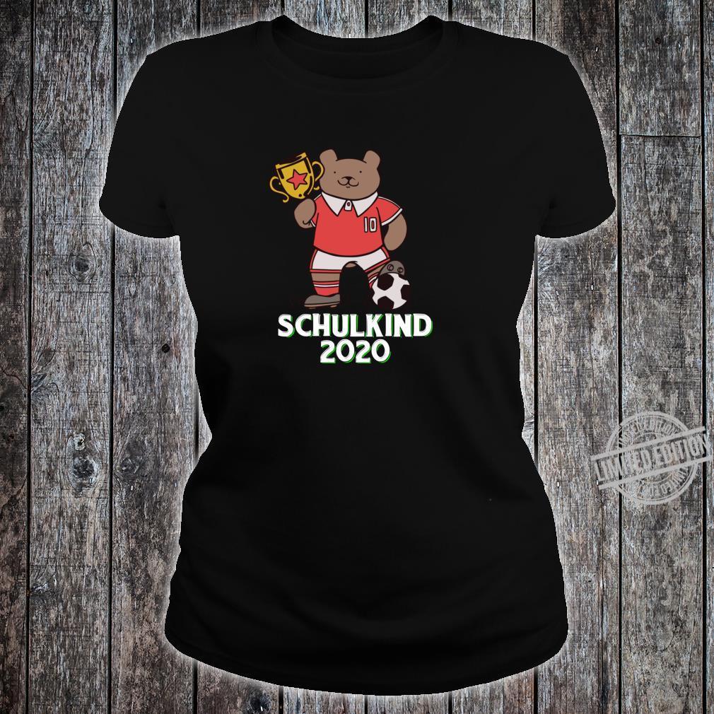 Fußball Schulkind 2020 Erstklässler Geschenk Einschulung Shirt ladies tee