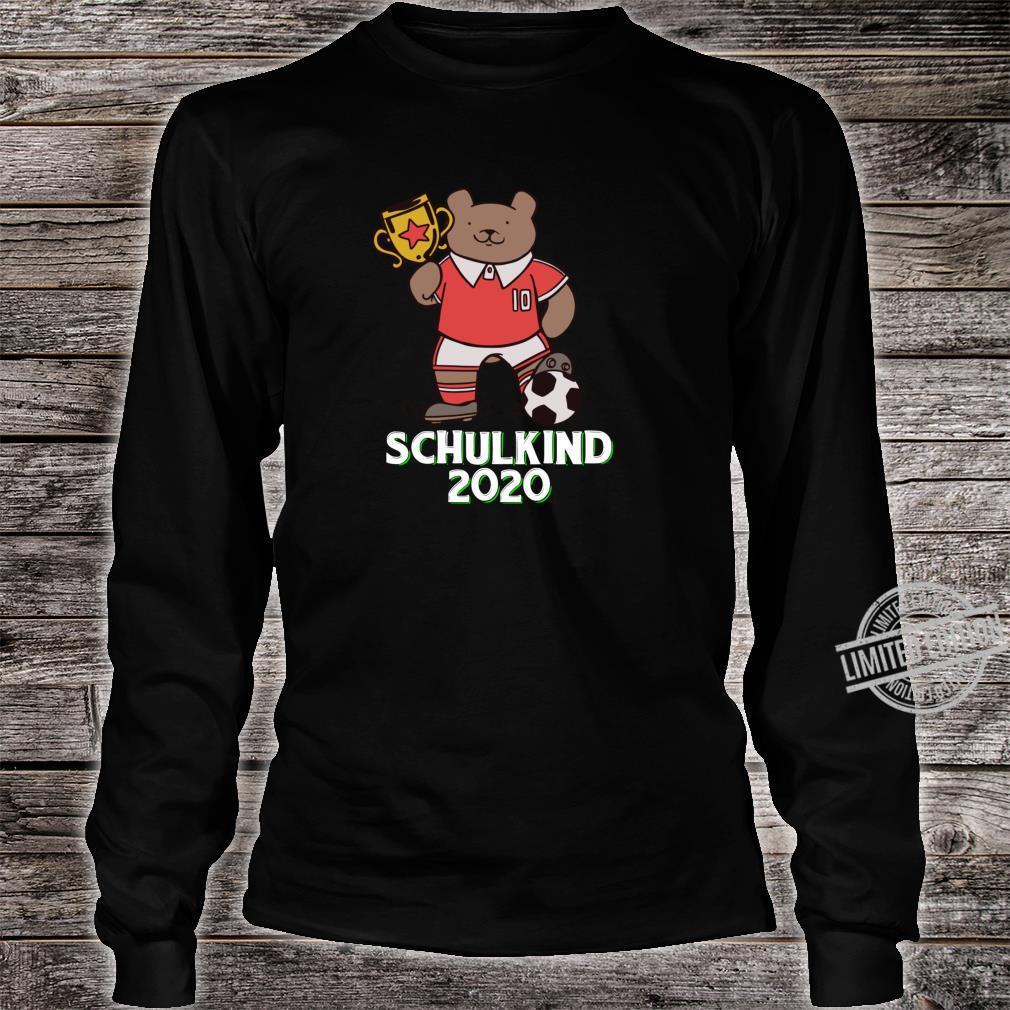 Fußball Schulkind 2020 Erstklässler Geschenk Einschulung Shirt long sleeved