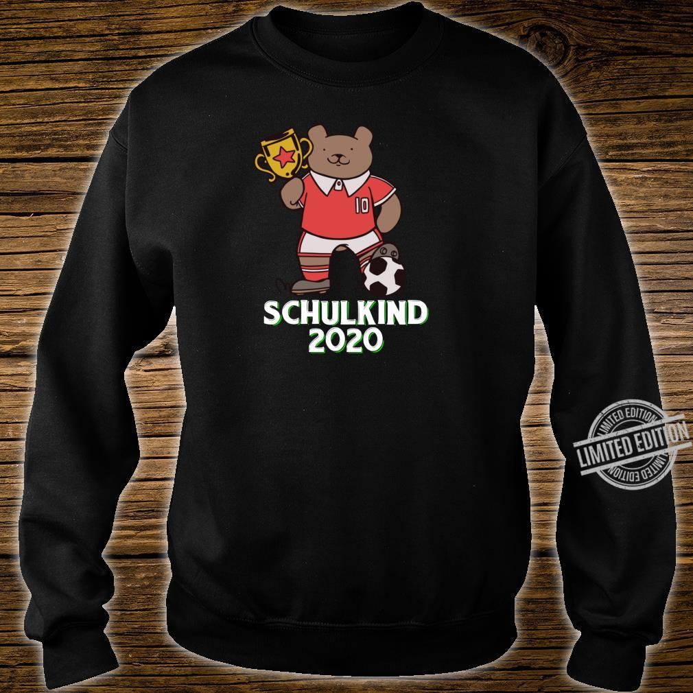 Fußball Schulkind 2020 Erstklässler Geschenk Einschulung Shirt sweater