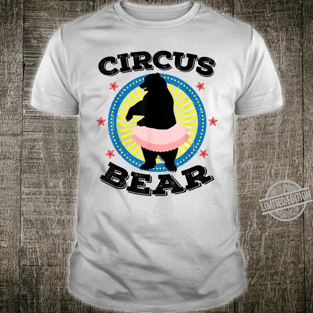 Funny Circus Bear Cool Carnival Staff Performers Shirt