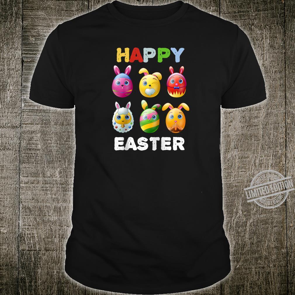 Funny Easter Cute Bunnies Eggs Tee Egg Hunting Shirt