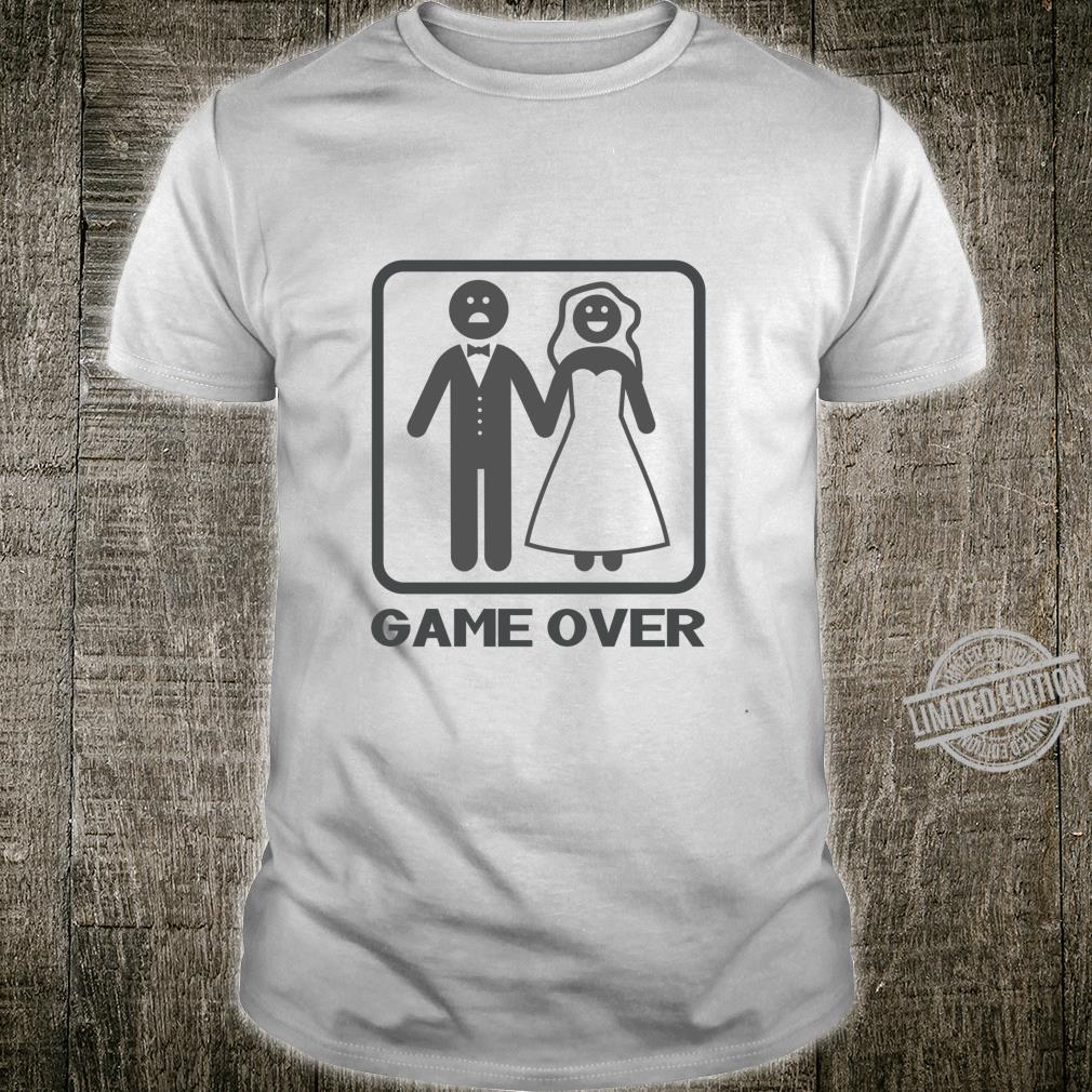 Funny Game Over Langarmshirt Shirt