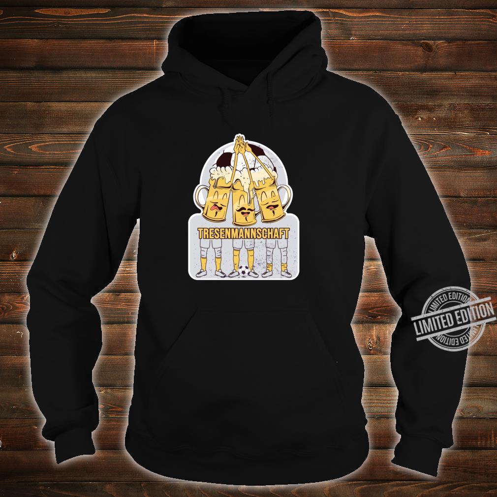 Fussball Spiel Taining Sport Bier Tresenmannschaft Fussball Shirt hoodie