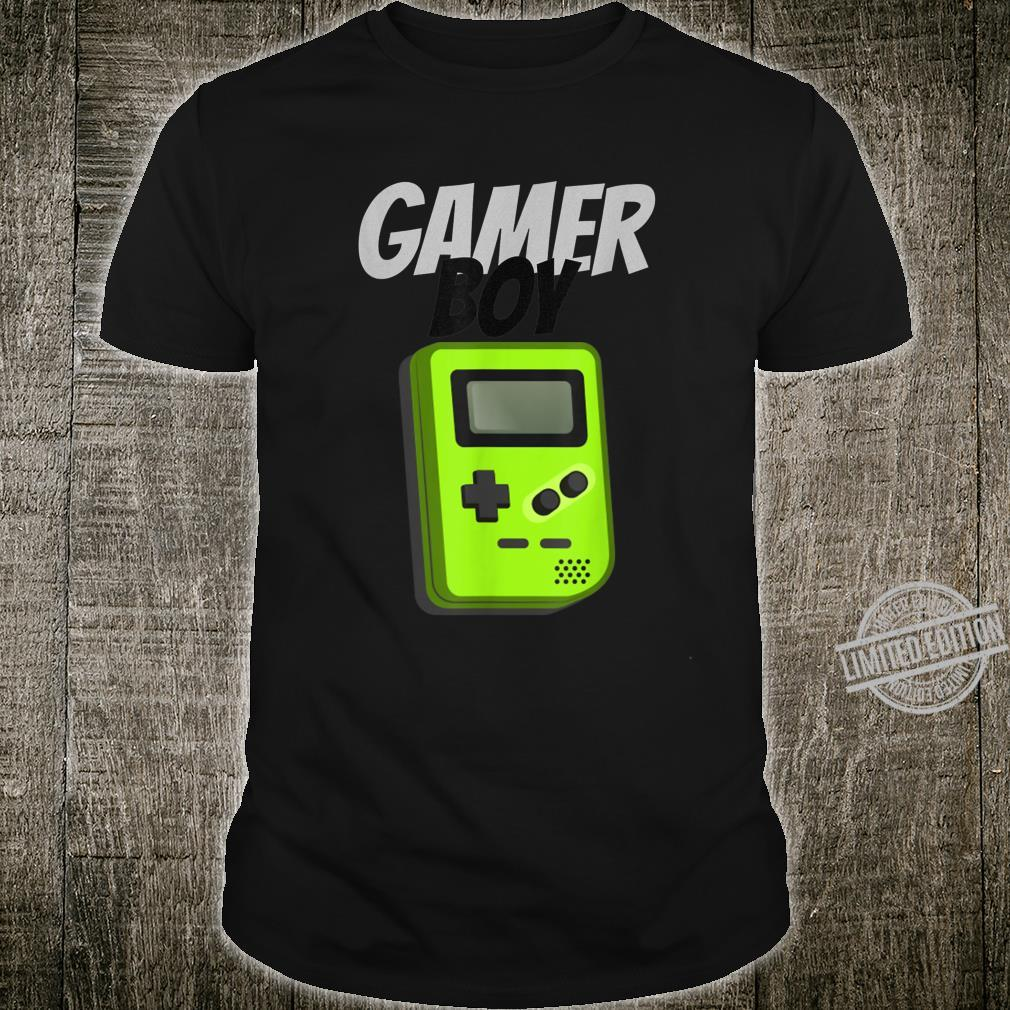 Gamer Boy Hand Held Game Shirt