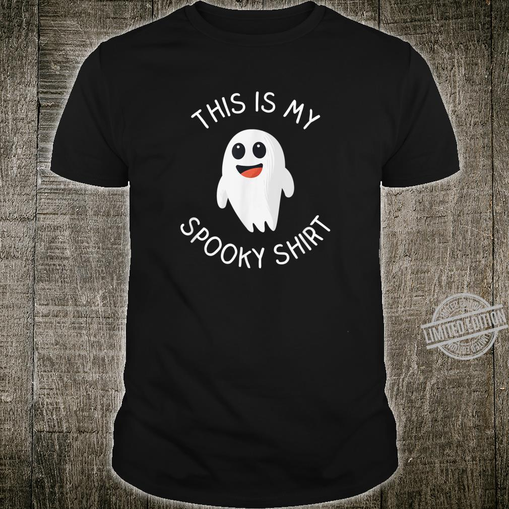Halloween, This Is My Spooky Shirt, Halloween Party Shirt