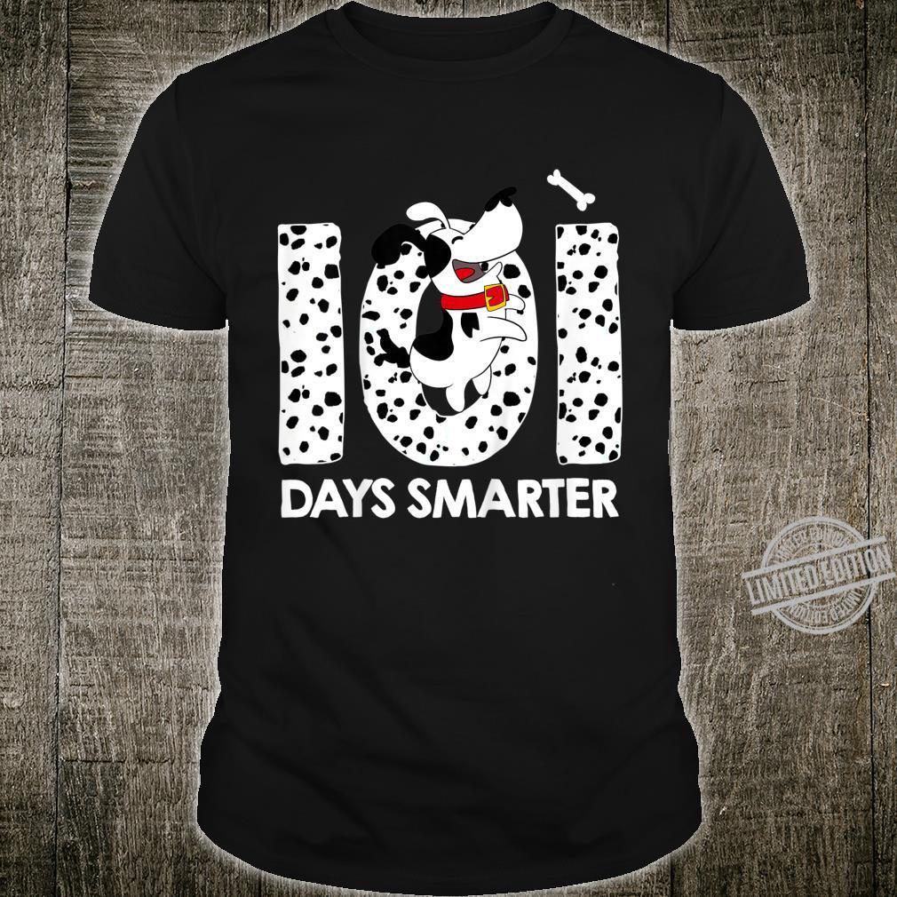 Kids 101 Days Smarter Shirt Dalmation Dog Costume Shirt