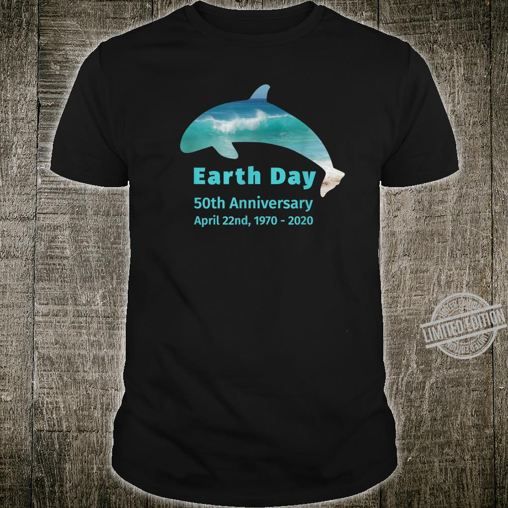 Planet Earth Day 50th Anniversary 19702020 Orca Whale Shirt