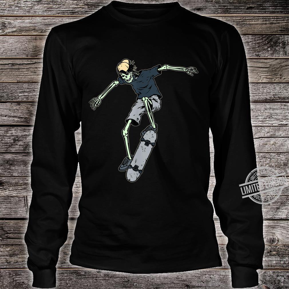 Skateboard Vintage Skate Retro Love Skateboarding Idea Shirt long sleeved