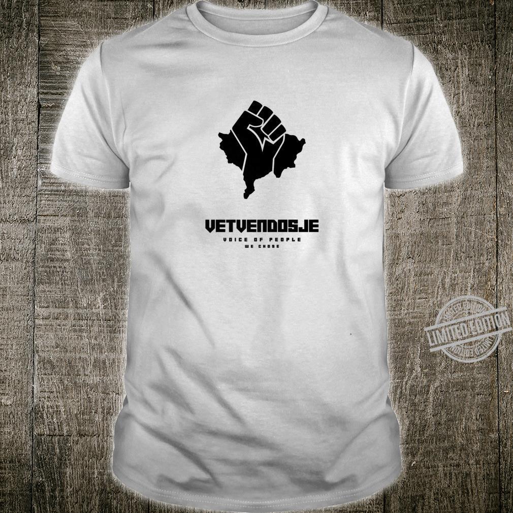 Vetvendosje Albin Kurti Kosova Revulution Shirt