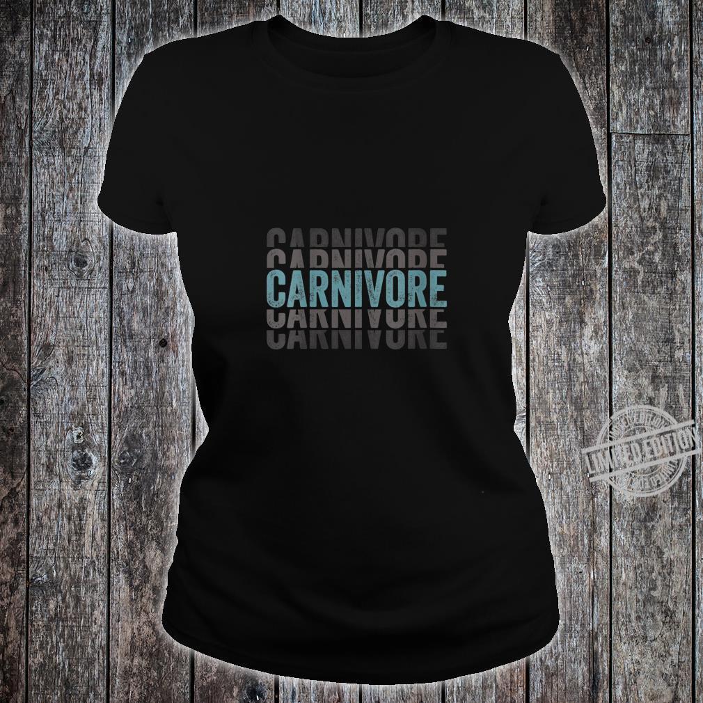 Womens Carnivore Meat Eater Shirt ladies tee