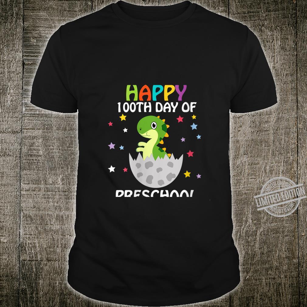 Womens Happy 100th Day of School Child Shirt