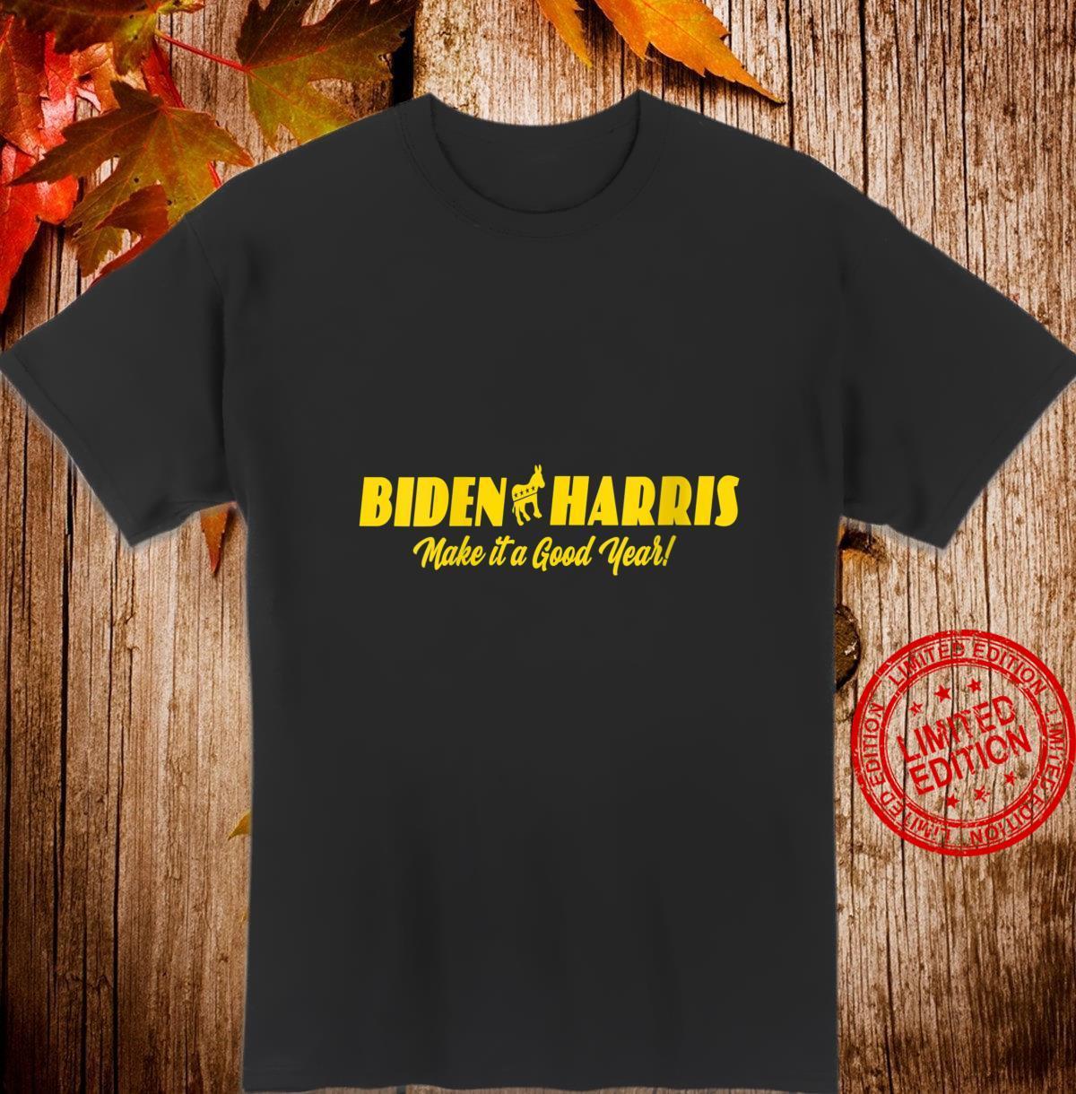 Womens New Anti Trump Biden Harris 2020 Good Year Shirt